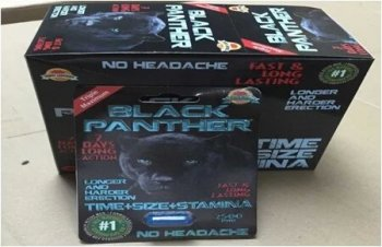 10boxes Black Panther Male Enhancement Pill