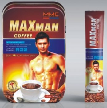 10boxes male Maxman coffee extend erection time
