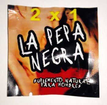 La Pepa Negra sex 2 pills