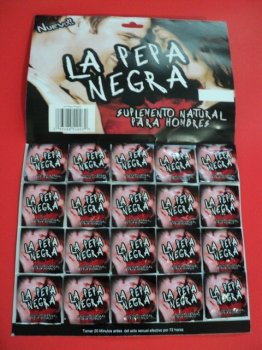 La Pepa Negra sex single pill